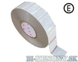 3M 997-10S Reflexná páska na značenie vozidiel – biela