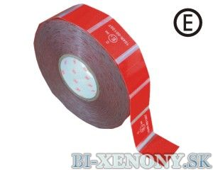 3M 997-72S Reflexná páska na značenie vozidiel – červená
