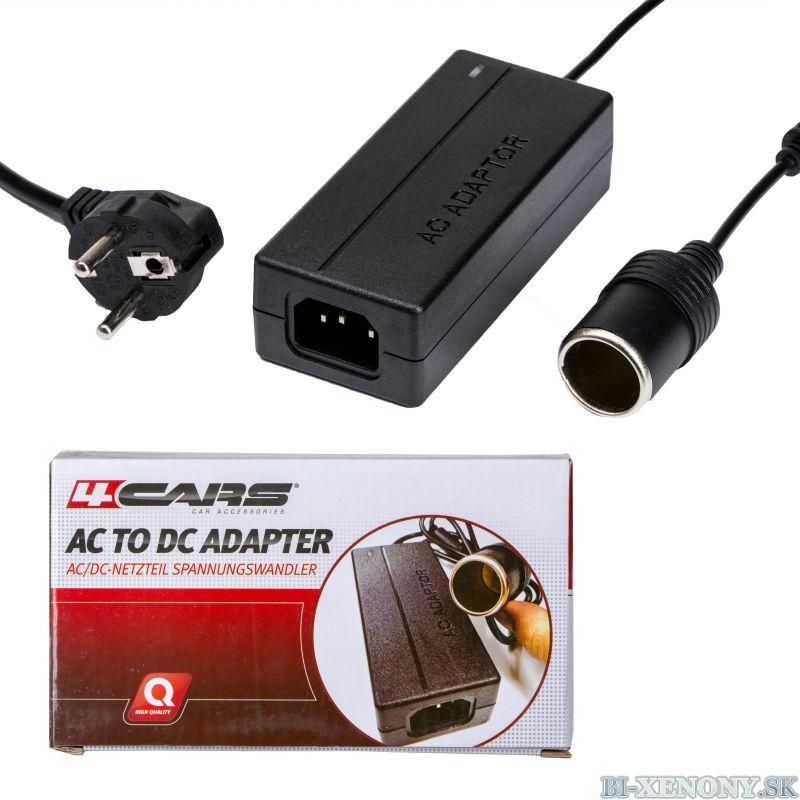 4CARS AC/DC adaptér 240V/12V-5A-60W