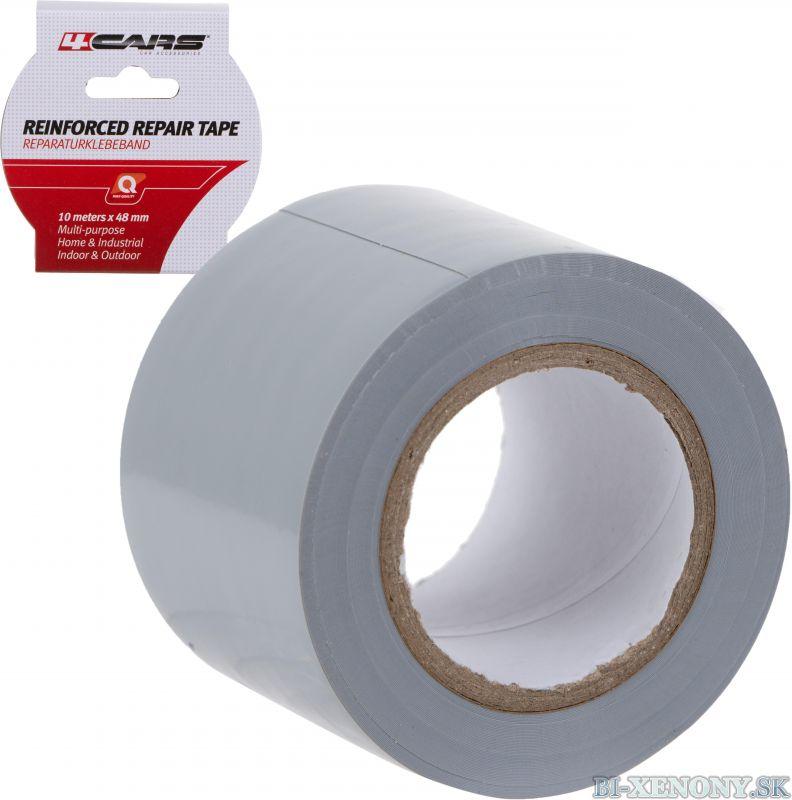 4CARS Lepiaca páska gumená ALLIGATOR 48mm x 10m sivá