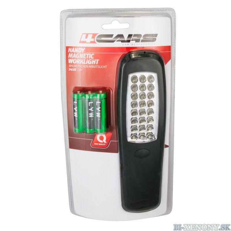 4CARS Pracovná lampa 24 LED HANDY