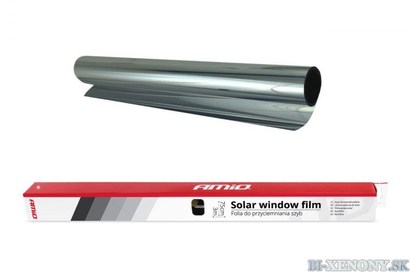 AMiO Fólia na okná Zrkadlová 0,75x3m Priepustnosť svetla 15%