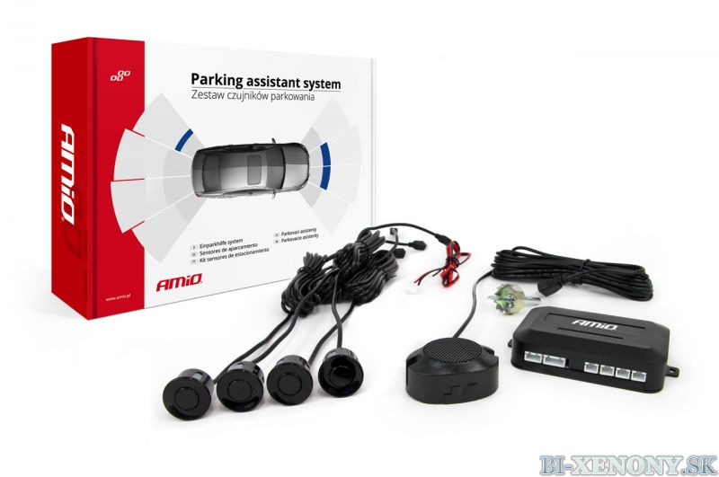 AMiO VERTEX Parkovacie 4-senzory bez displaya