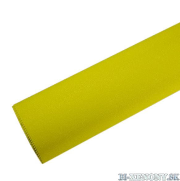 Briliantová fólia žltá