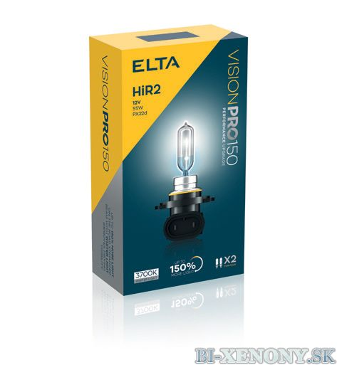ELTA HIR2 12V 55W Vision PRO +150% BOX 2ks