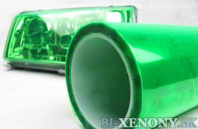 folia na svetlo zelena
