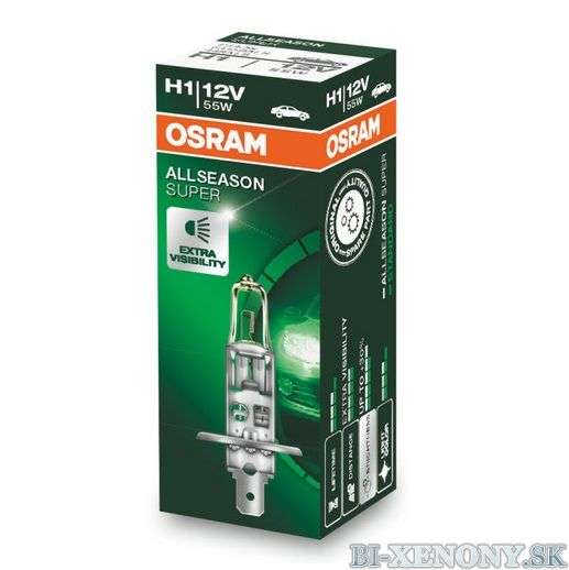 H1 OSRAM All Season Super 12V 55W