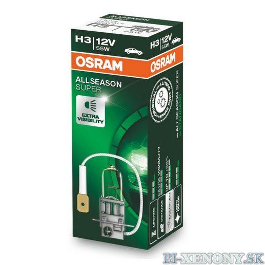H3 OSRAM All Season Super 12V 55W
