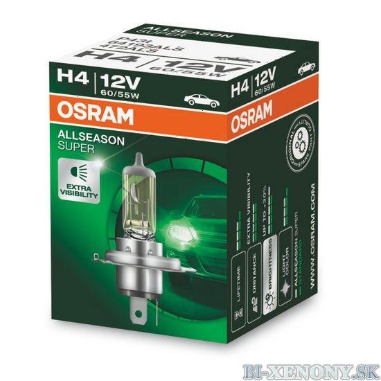 H4 OSRAM All Season Super 12V 60/55W