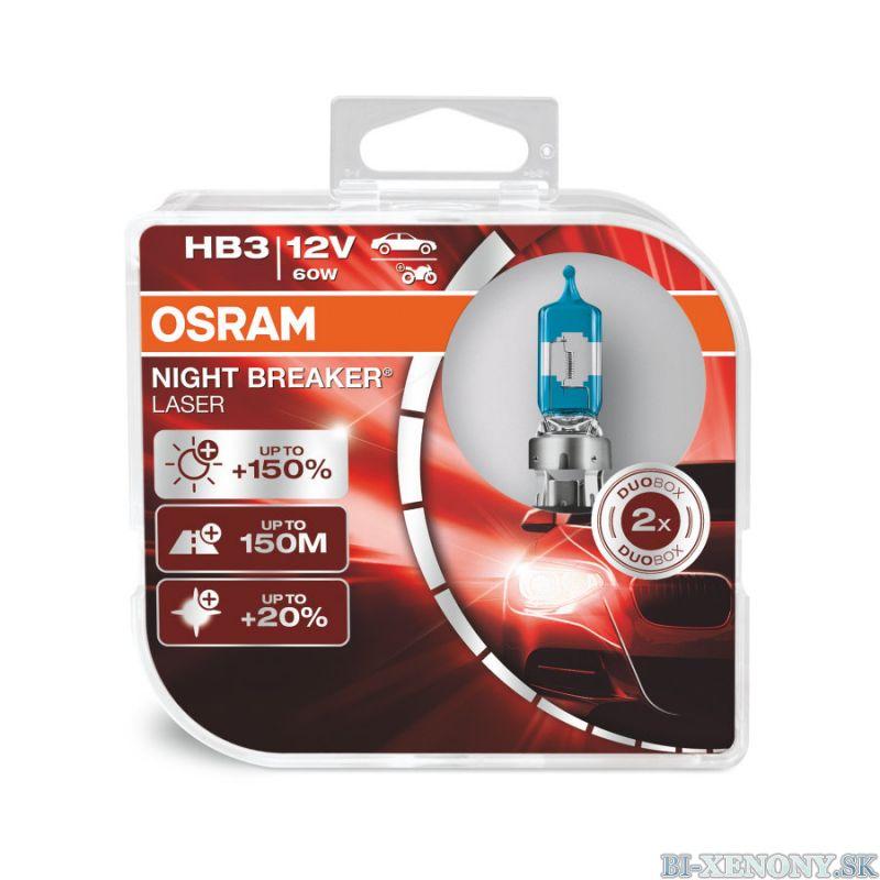 HB3 OSRAM Night Breaker Laser +150% BOX 2ks