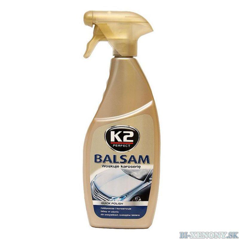 K2 Rýchloleštiaci vosk Balsam 700 ml Atom