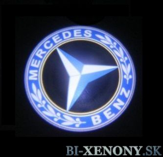 led logo mercedes
