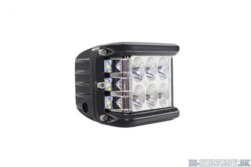 LED pracovné svetlo 12 LED 110x75 36W FLAT 9-36V 2F AWL08