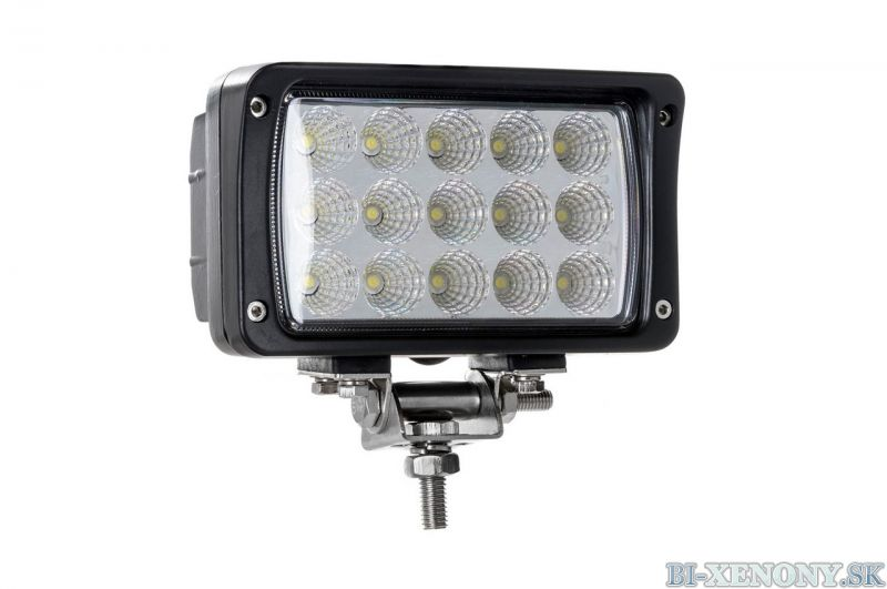 LED pracovné svetlo 15LED 160x90 45W FLAT 9-36V AWL22