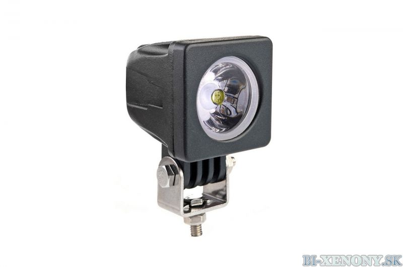 LED pracovné svetlo 1LED HP 50x50 10W SPOT 9-36V AWL18
