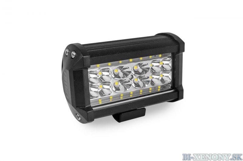 LED pracovné svetlo 28LED 136x80 84W FLAT 9-36V AWL09