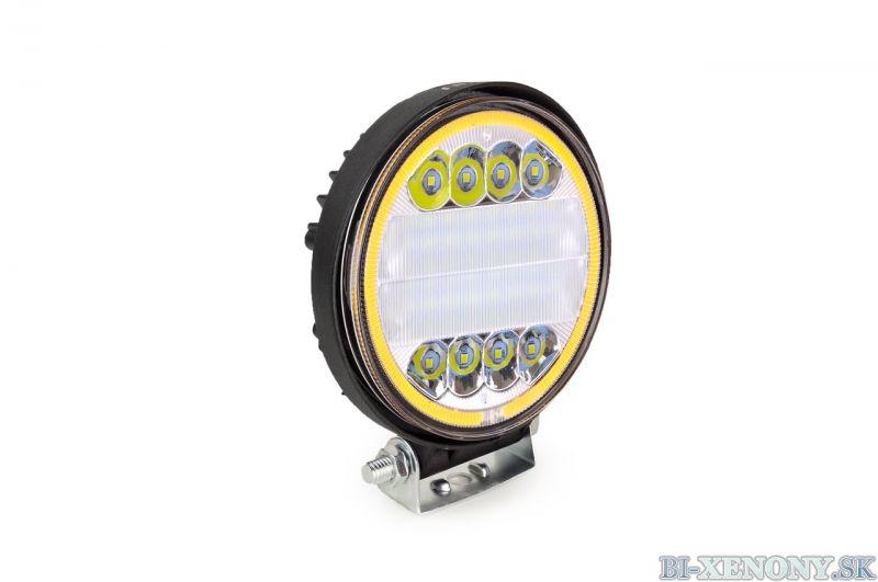 LED pracovné svetlo 42LED Ø110 45W COMBO 9-36V 2F AWL14