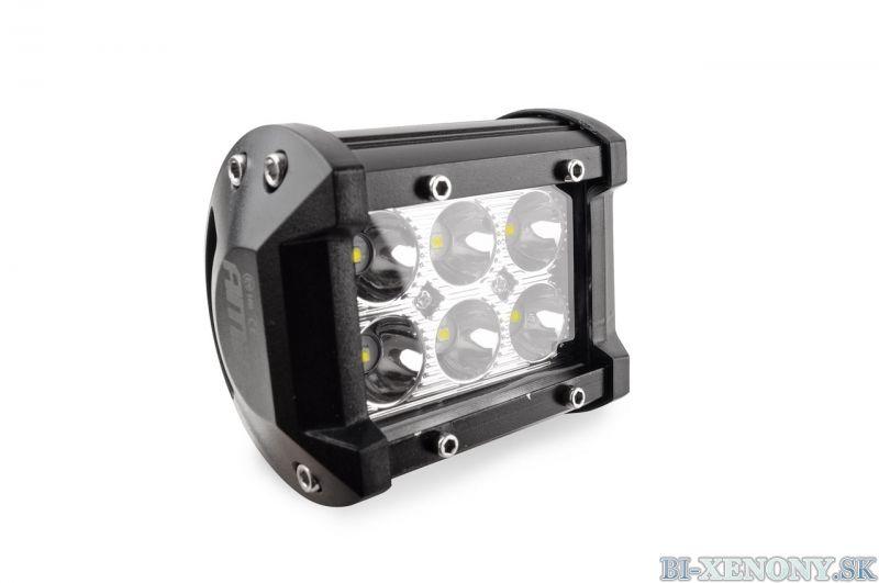 LED pracovné svetlo 6LED 95x77 18W FLAT 9-36V AWL17
