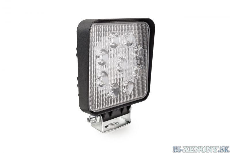 LED pracovné svetlo 9LED 110x110 35W FLAT 9-36V AWL07