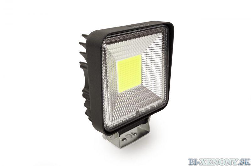 LED pracovné svetlo COB 110x110 35W FLAT 9-36V AWL11