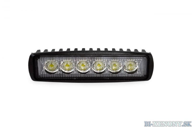 LED pracovné svetlo WL01 18W FLAT 9-60V