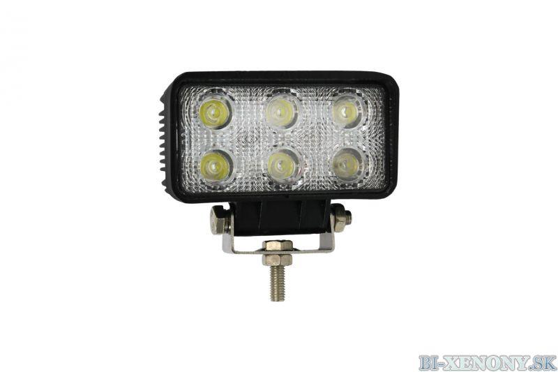 LED pracovné svetlo WL02 18W FLAT 9-60V
