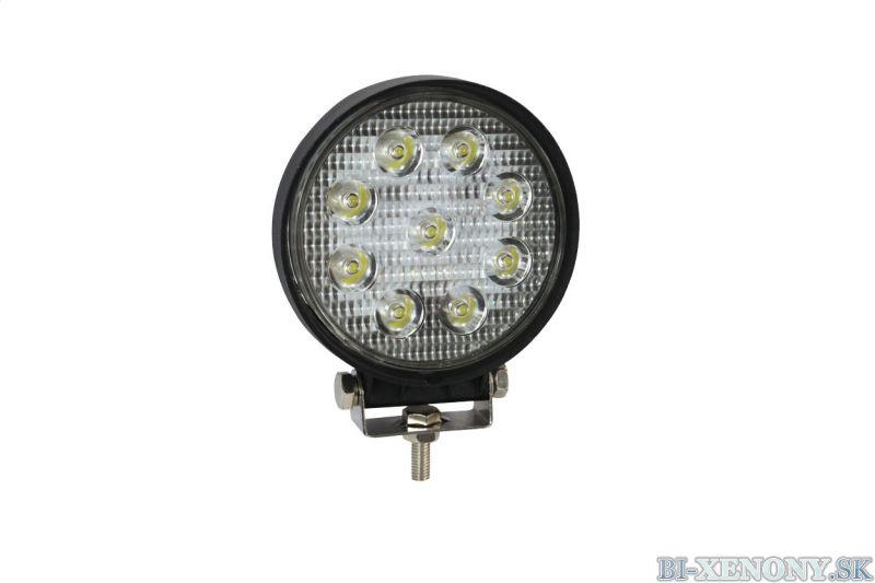 LED pracovné svetlo WL04 4,5`27W FLAT 9-60V
