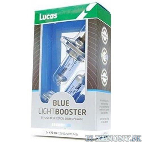 LUCAS Blue Light Booster H4 P43t 12V 60/55W