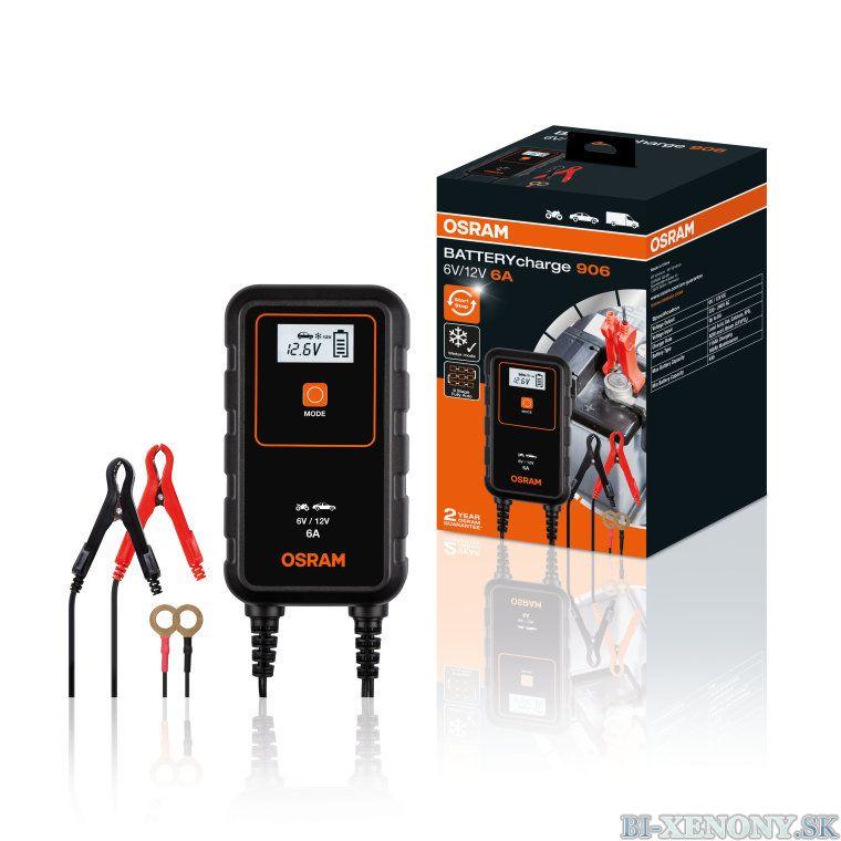 Nabíjačka batérií OSRAM OEBCS906 6-ampérová