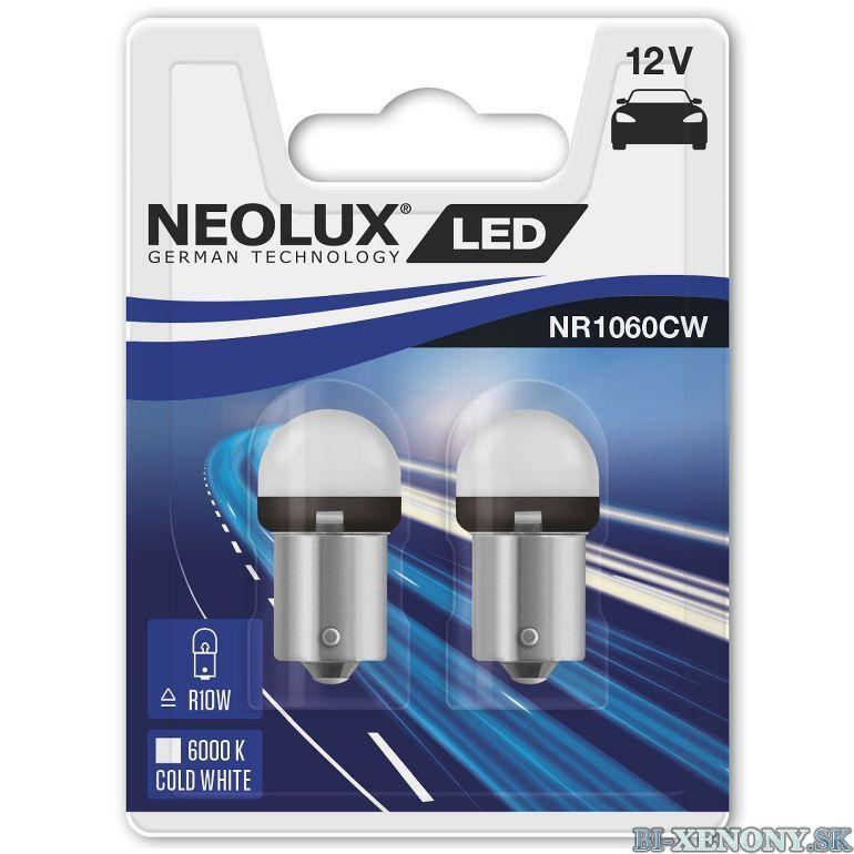 NEOLUX LED R10W NR1060CW 12V 1,2W BA15s 6000K