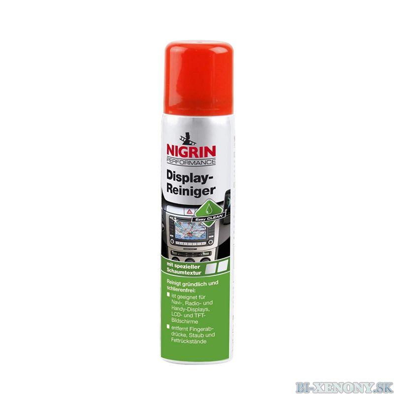 NIGRIN Prípravok na čistenie displejov palubnej dosky 75 ml