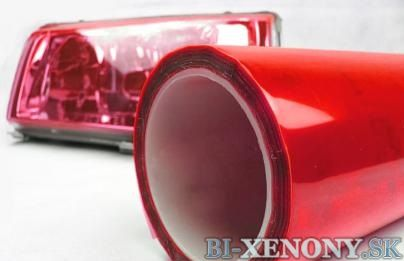 Ochranná fólia - svetlo červená