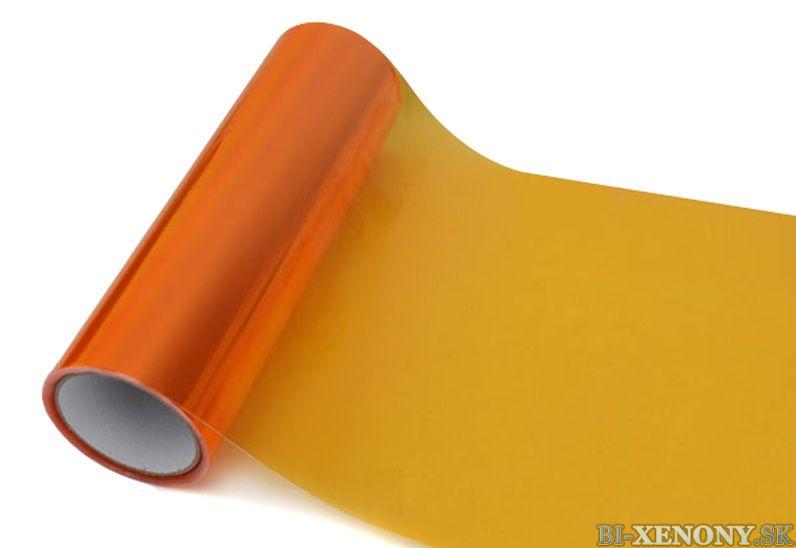 Ochranná fólia - svetlo oranžová