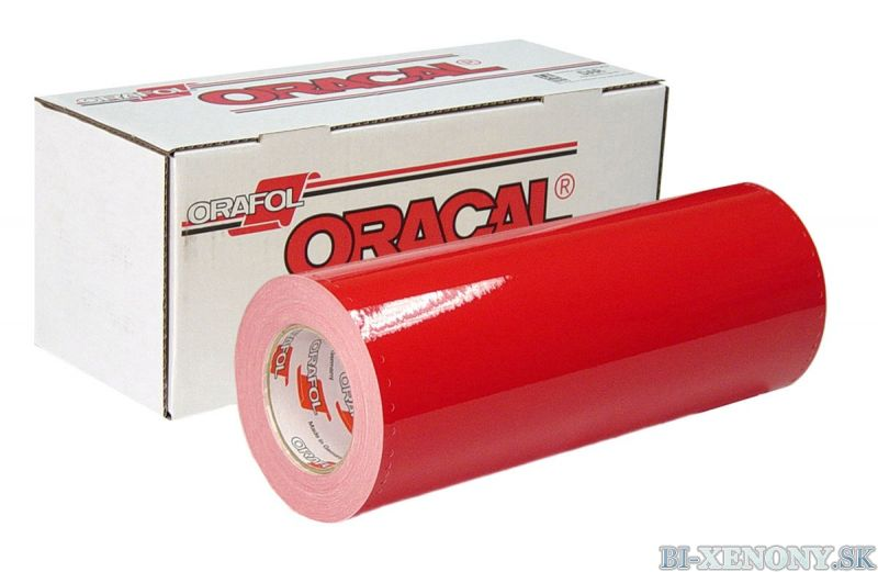 ORACAL 8300 ČERVENÁ 031 100cm x 50cm 01