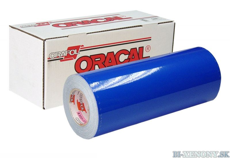 ORACAL 8300 MODRÁ 049 100cm x 50cm
