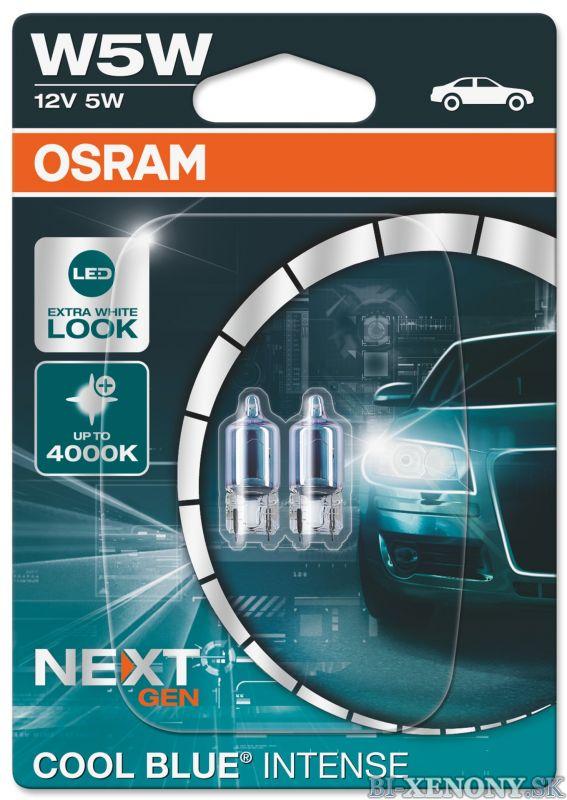 Osram Cool Blue Intense T10 W5W NextGeneration 4000K