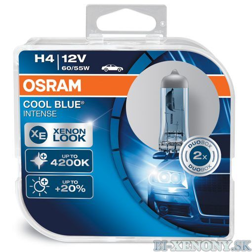 OSRAM CoolBlue Intense H4 55W