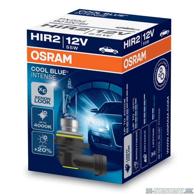 OSRAM CoolBlue Intense HIR2 9012 55W 1KS