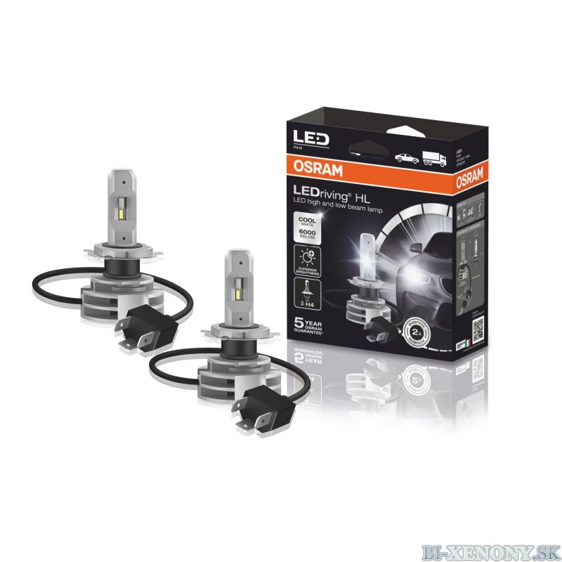 Osram H4 LEDriving HL 9726CW LED set 6000K 2ks/balenie