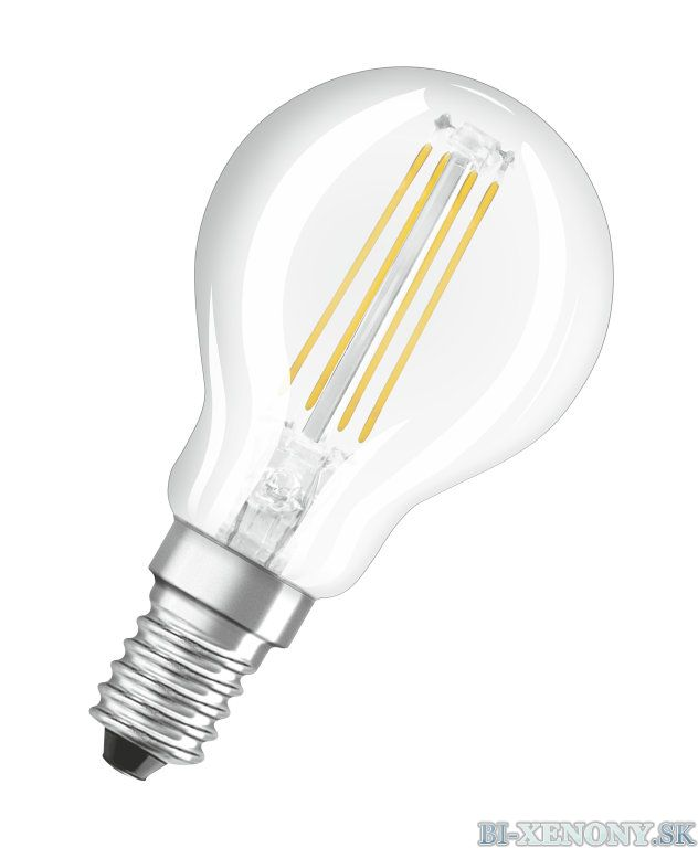 Osram LED STAR+ CL B CRI90GL 40 5W/927 E14 2700K
