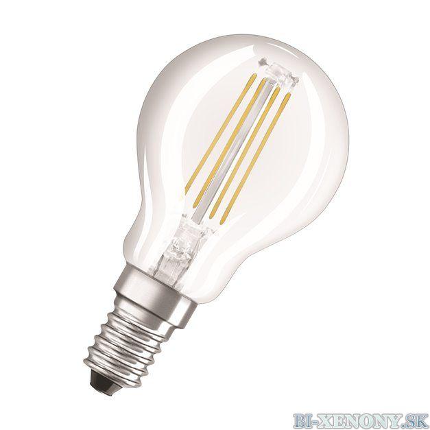 Osram LED VALUE CL P FIL 40 4W/827 E14 2700K