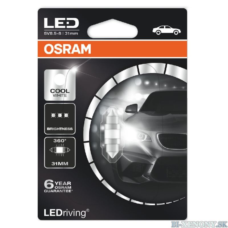 Osram LEDriving Premium 31,mm 1W