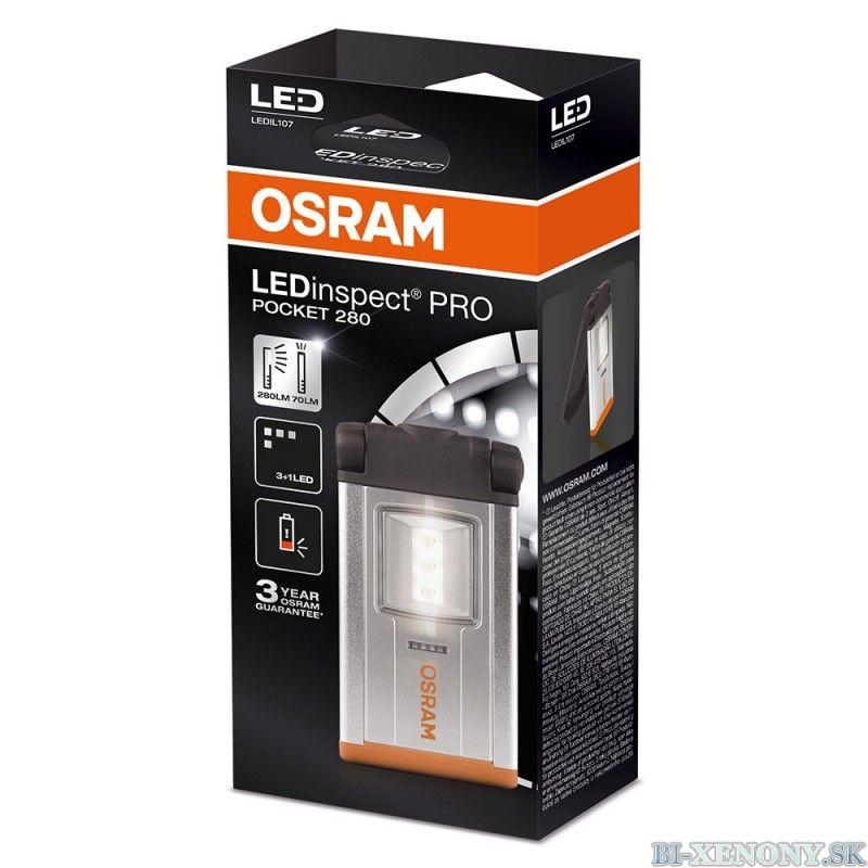 OSRAM Montážna lampa Osram IL107 LEDinspect PRO POCKET 280