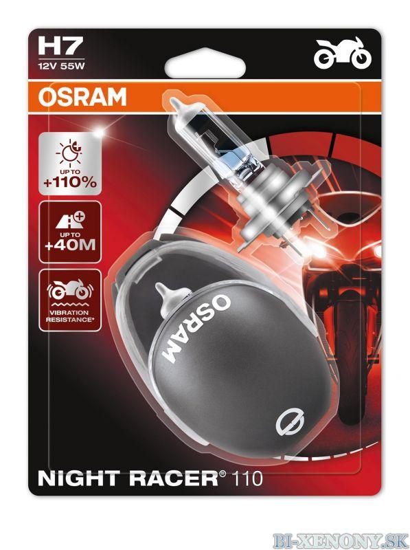 Osram Night Racer +110% 12V H7 55W 2KS