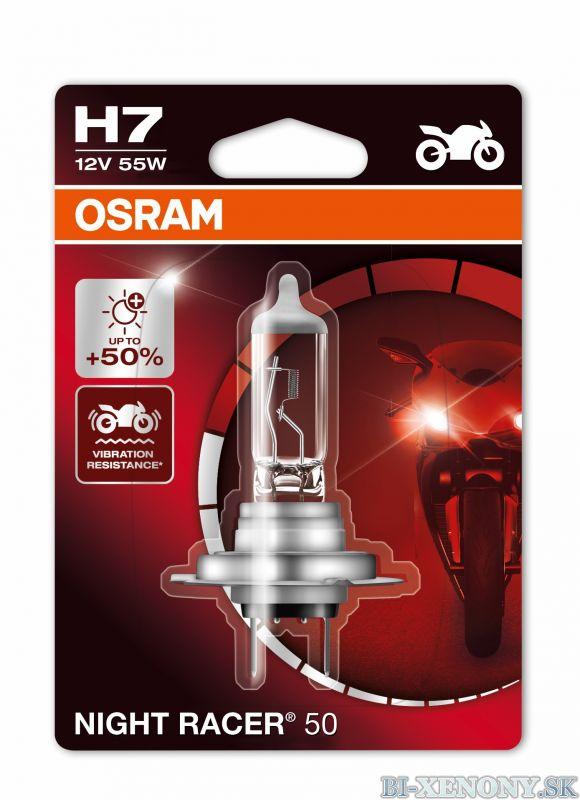 OSRAM NIGHT RACER 50 H7 55W +50% 1KS