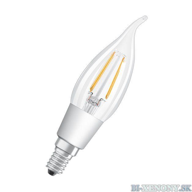 Osram PARATHOM+ CL BA GLDFIL 40 GLOWdim 5W/827 E14 2700 - 2200K