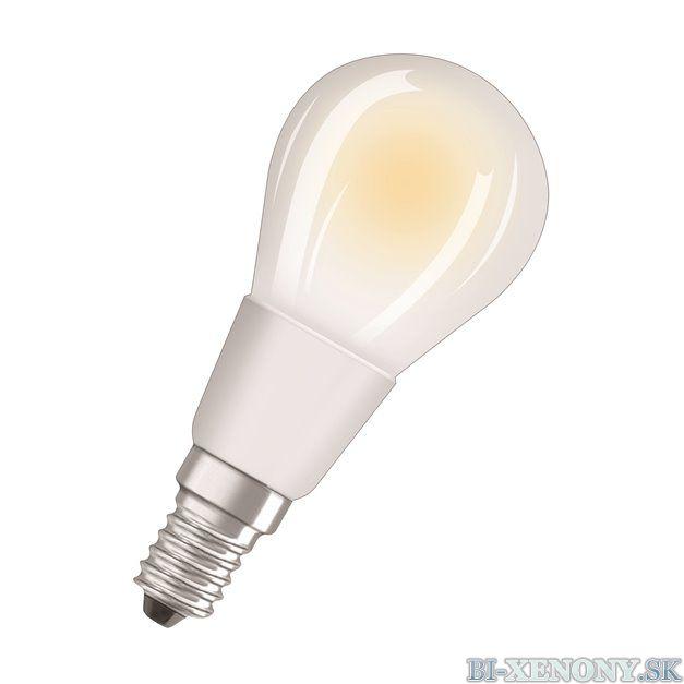 Osram PARATHOM DIM CL P GL FR 40 dim 4,5W/827 E14 2700K