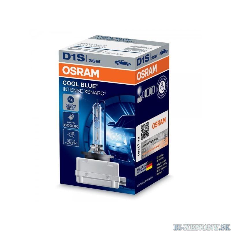 Osram xenonová výbojka D1S XENARC Cool Blue Intense