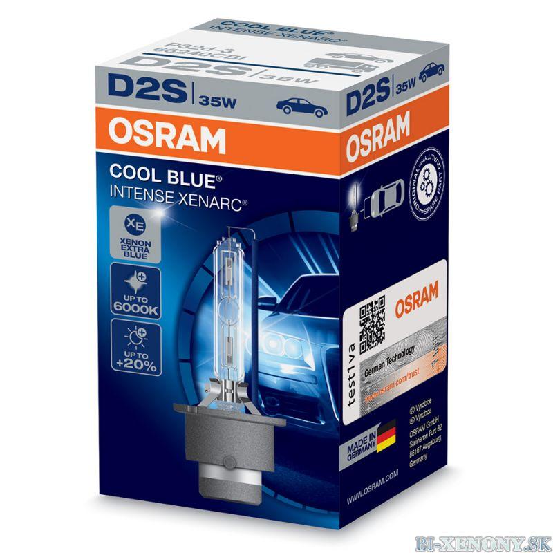 Osram xenonová výbojka D2S XENARC Cool Blue Intense