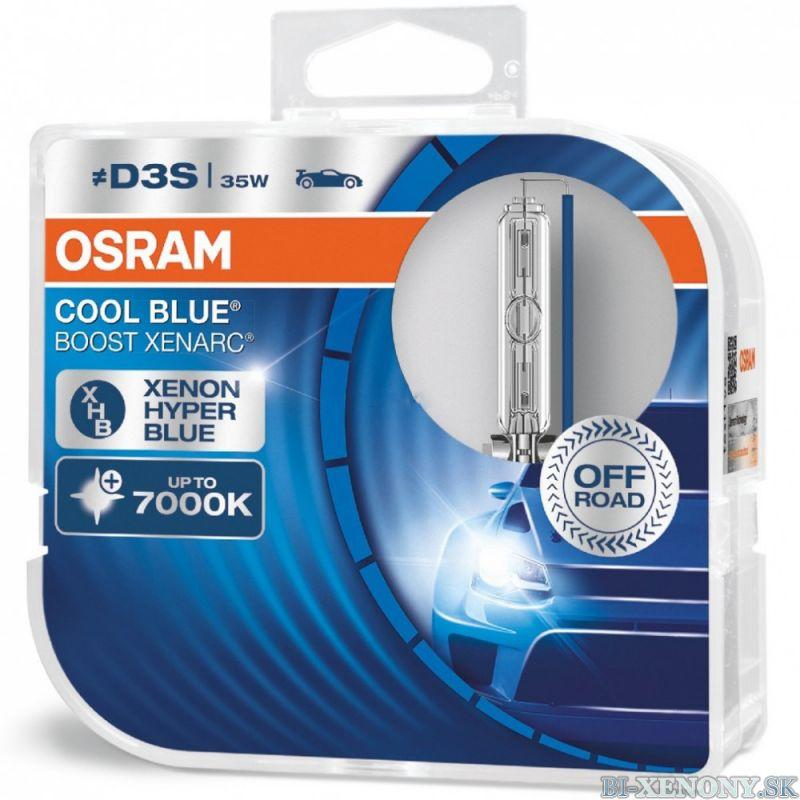 Osram xenonová výbojka D3S 35W XENARC Cool Blue BOOST BOX